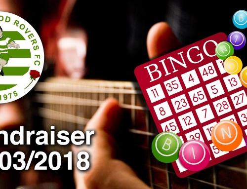 GHRFC Bingo & Live Music Fundraising Evening – 24/03/2018